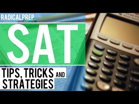 SAT Math Tips. Tricks and Strategies - Part I