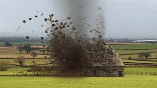 3ds Max - Barn Tornado Particle Flow Tutorial