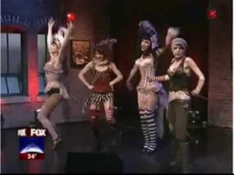Emilie Autumn performs Girls! Girls! Girls! on FOX 2 Detroit