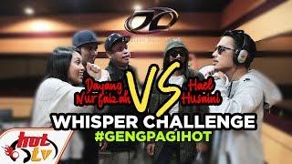 Hael Husaini VS Dayang Nurfaizah #WhisperChallenge (AJL32)