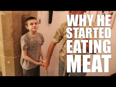 WHY HE STARTED EATING MEAT AGAIN | AUTISM FAMILY VLOG