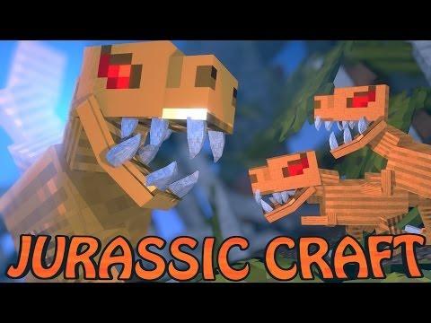 Minecraft Dinosaurs | Jurassic Craft Modded Survival Ep 2!
