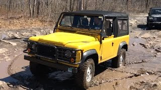 Off-Roading My New $70,000 Land Rover Defender