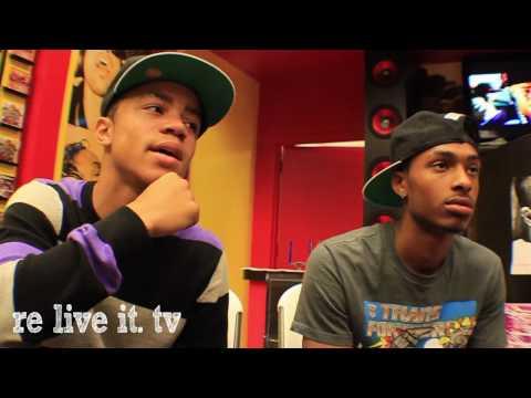 NEW  BOYZ LIVE INTERVIEW // RELIVEIT.tv