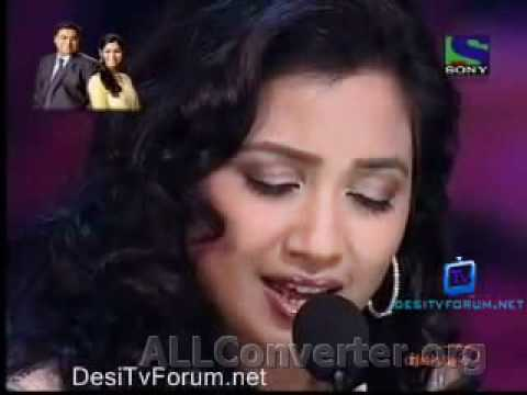 X Factor India 31st May 2011  Shreya Singing Bairi Piya video