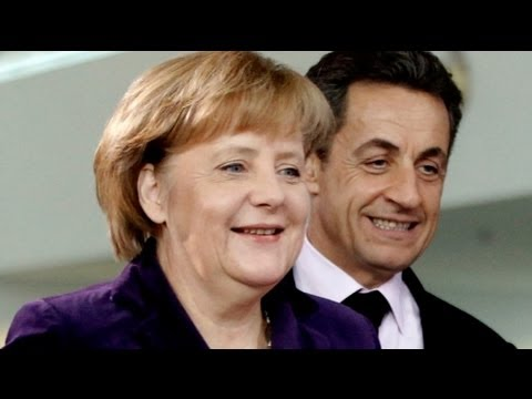 Sarkozy and Merkel hold first 2012 crisis talks
