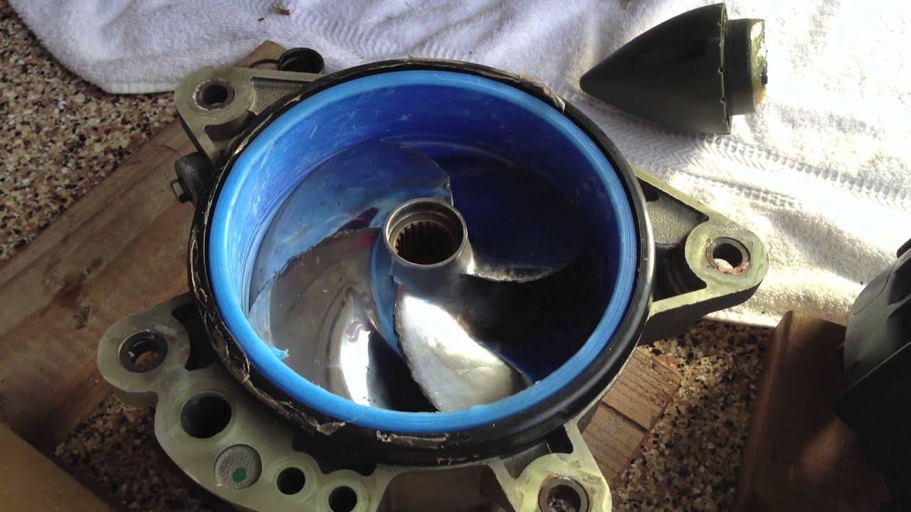Ремонт водомета\\замена кольца на гидроцикле seadoo rxp 215\\255 живой лайфак\\мануал
