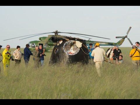 Экипаж ТПК Союз ТМА-15М благополучно вернулся на Землю