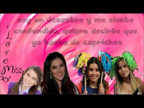 Miss XV - Soy un desastre - Letra - Rock Princess
