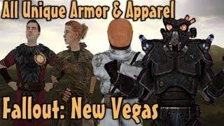 Fallout: New Vegas - All Unique Armor & Apparel Guide (Vanilla)