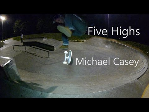 Five Highs No 31 Michael Casey Drug Store Skateboarding
