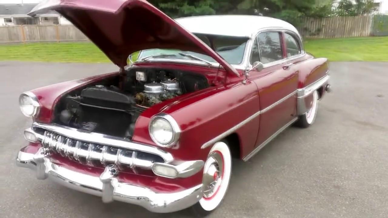 1954 Chevrolet Bel Air Youtube