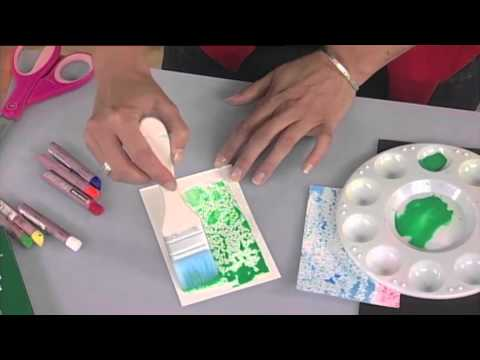Fun easy art projects for kids oil pastel block letters chunky
