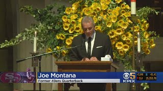 CLARK MEMORIAL:  Former teammates, friends and family members gather to remember 49ers great Dwight