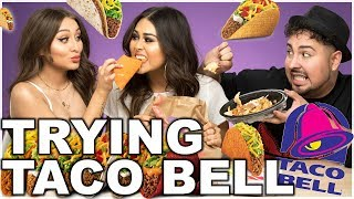 TRYING TACO BELL FOR THE FIRST TIME   Roxette Arisa
