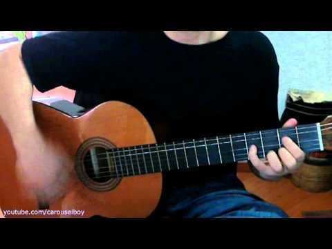 Time of times - Badly Drawn Boy (acoustic guitar) how to play