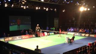 Peter Gade vs Lin Dan - game 2 part 2
