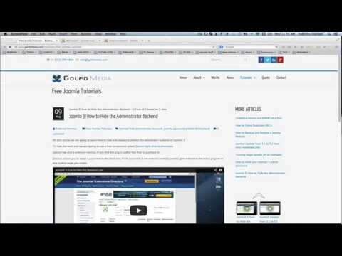 Setting up a Firewall on Joomla