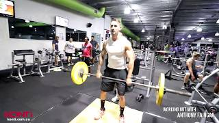 Football Strength and Conditioning - Konti working out with Anthony Faingaa - Part 4 of 5
