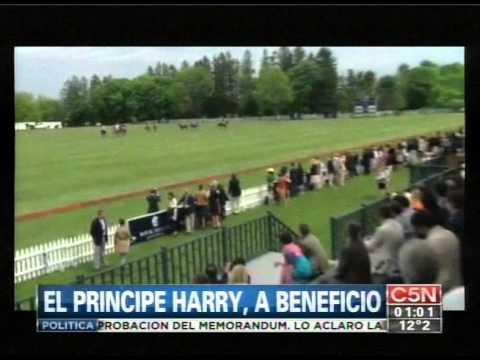 C5N - POLO: EL PRINCIPE HARRY, A BENEFICIO