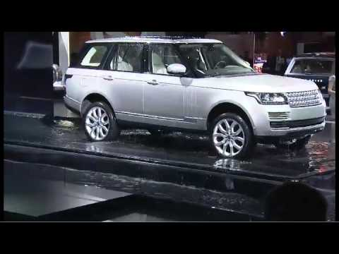 Land Rover: 2012 Paris Motor Show Press Conference