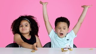 Kids Try Snacks for Old People | Kids Try | HiHo Kids