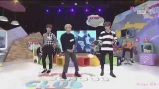 Boyfriend dancing girl group's songs