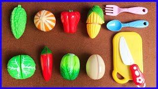 Đồ chơi cắt trái cây rau củ quả - TOY CUTTING VELCRO FRUITS & VEGETABLES (Chim Xinh)
