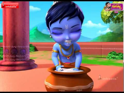 Little Krishna - Telugu Rhymes For Kids video