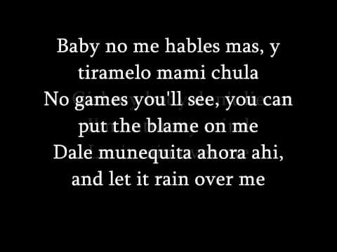 Pitbull Feat.Marc Anthony - Rain Over Me (lyrics) + French translationTraduction...