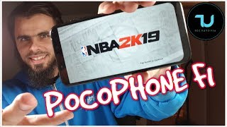 Pocophone F1 NBA 2K19 Android Gameplay Snapdrago 845 Ultra High Max Settings/Graphics (Official)