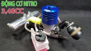 Nổ Thử Động Cơ Nitro 2 Thì 3.48cc