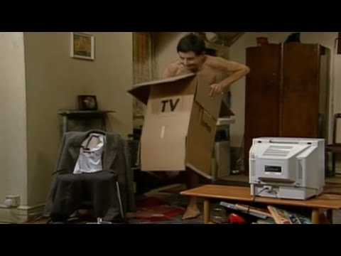 Mr Bean - Tv Aerial -- Mr Bean - Fernsehausstrahlung video