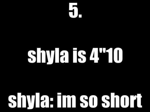 Shyla's 10 Facts About Her video