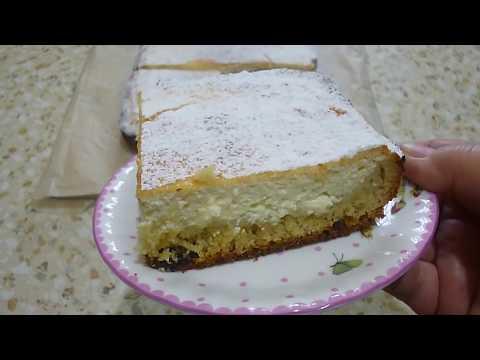 Творожный пирог  вкусный рецепт