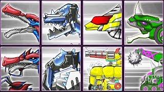 Dino Robot Corps Recolor #14: Baryonyx & Transformers | Eftsei Gaming