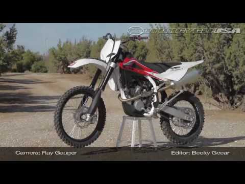 2010 Husqvarna TXC 250 Motocross Dirtbike Review