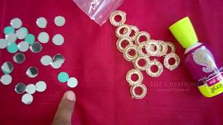 Simple mirror neck design cutting and stitching (DIY)