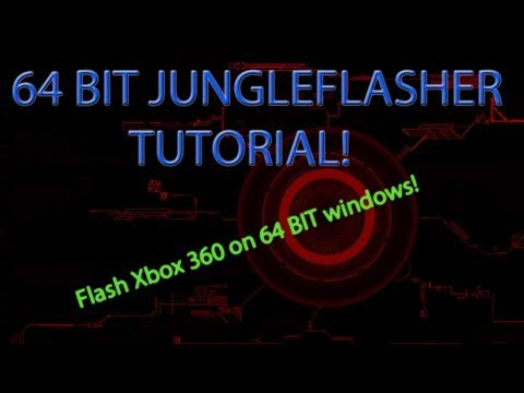 HOW TO Flash an Xbox 360 on 64 BIT PC Jungleflasher | And How to Unbrick a Lite-on Drive!