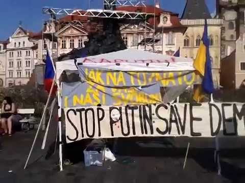 Prague Maidan protest