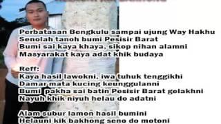 """Lagu Lampung dan Lirik """" Helauni Kik Bakhong"""" Pesisir Barat"""