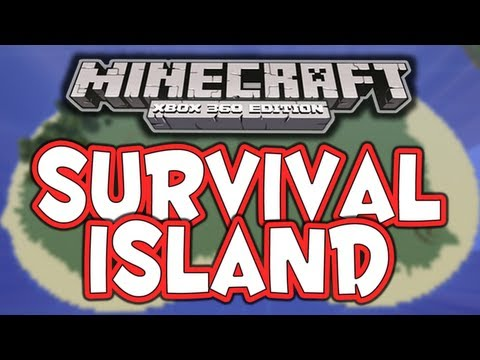 Minecraft (Xbox 360) - Survival Island! (Co-Op)  - #1 - It Begins...
