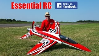 "250 MPH RC ""Ultra Flash"" TURBINE SPORT JET (Piloted by Essential RC)"