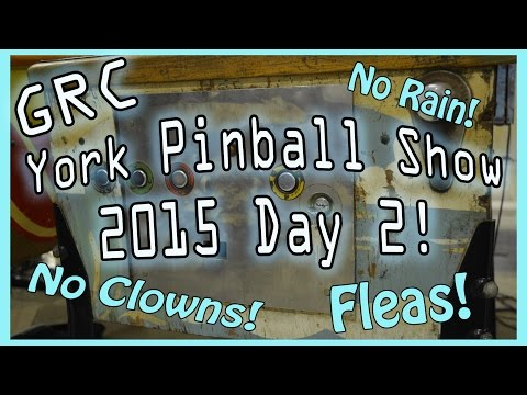 Day 2! 2015 White Rose Pinball / Gameroom Show ~ York PA ~ Free CD's! 2nd Place Is The First Loser?!