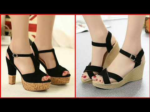 Women's Designer Sandals - Stylish Platform Heels Designs For Ladies