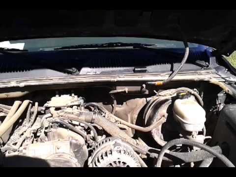 how to change gmc 2005 Oil Pressure Sensor