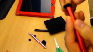 How to make a cheap ebay stylus into a great capacitive tou