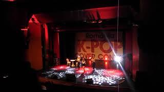 Oana Taune, K-pop cover contest, Bucuresti,21.07.2018, Piano man( Mamamoo cover)