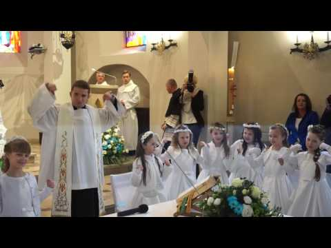 I Komunia Św. W Parafii św. Wacława W Radomiu