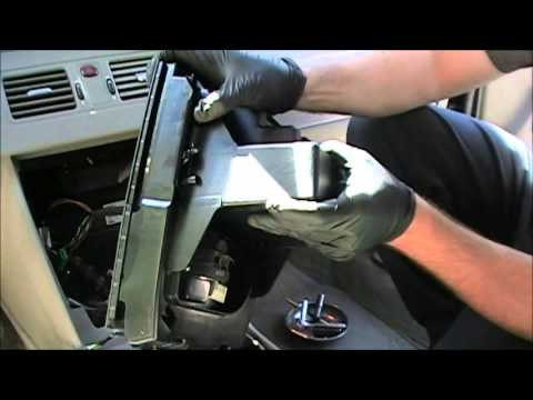 How to remove your Volvo XC90 Radio and Climate Control unit - YouTube